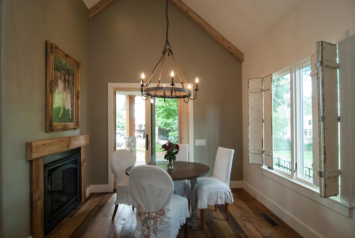 Custom Home Luxury Cottage Davidson NC McMillan Builders RGB0021