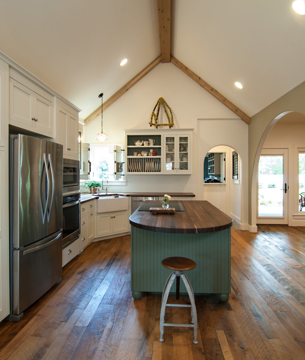 Custom Home Luxury Cottage Davidson NC McMillan Builders RGB0027